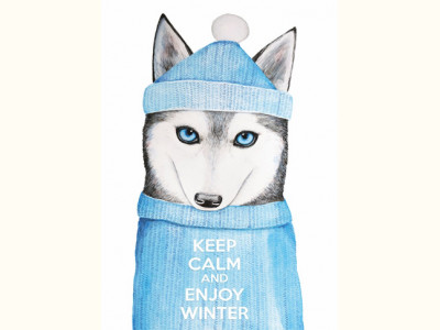 Keep calm and enjoy winter