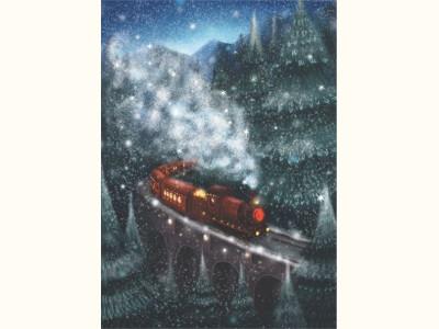 Зимний поезд / Winter train