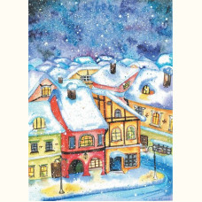 Снежный город / Snowy town