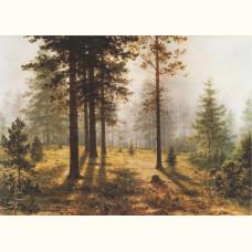 Шишкин И.И. Туман в лесу