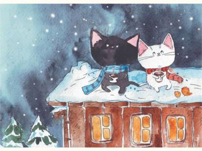 Январский снег / January snow