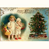 Christmas card Children