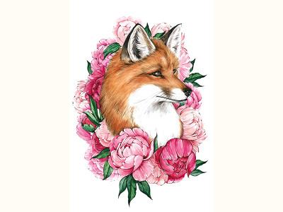 Лиса-весна