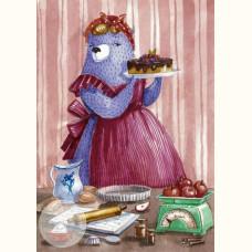 Лавандовая леди. Продавщица сладостей