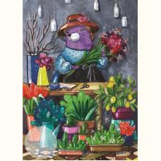 Лавандовая леди. Цветочница