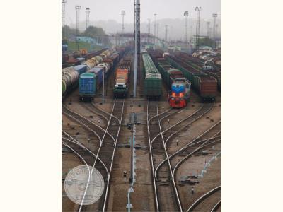 Новосибирск. Железнодорожная станция Инская