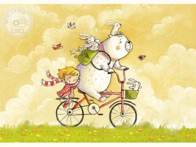 Ия и Ян. Велосипед