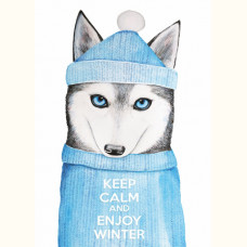 Keep calm and enjoy winter