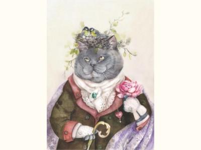 Кот с душой поэта