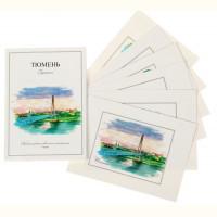Набор открыток Тюмень